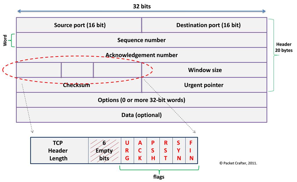 TCP 报文结构