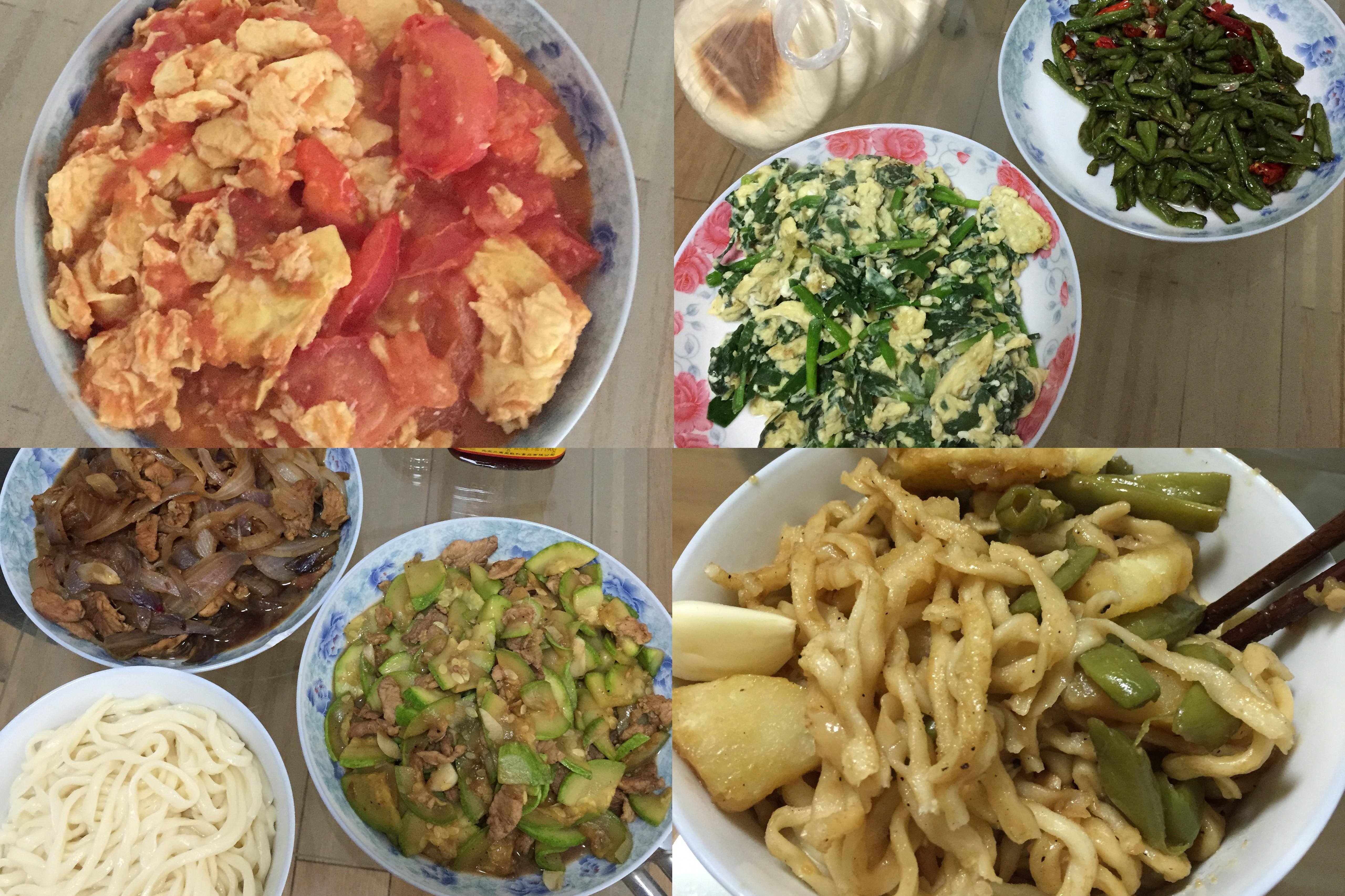 我做的饭菜